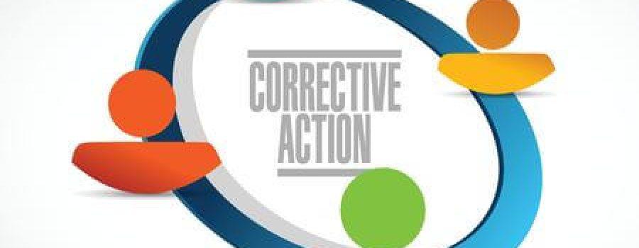 Corrective Action graphic