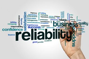 Reliability Word Cloud
