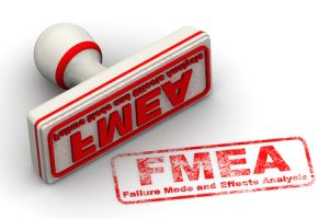 Stamp with the word FMEA