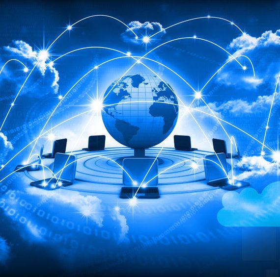 37298498 - cloud computing concept, global computer network