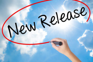 New Release writing in sky