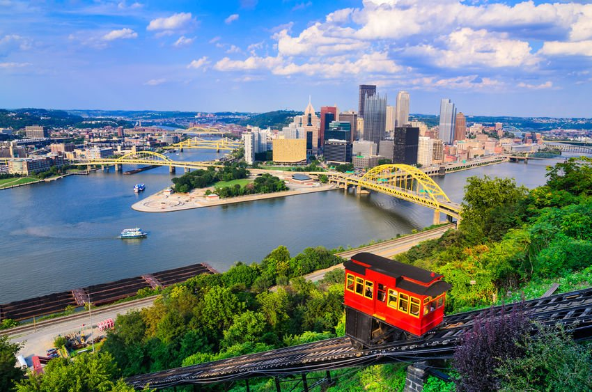 View of Pittsburgh with Incline