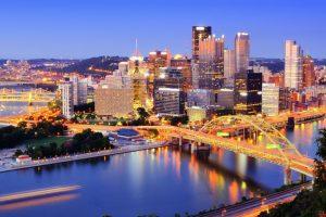 Pittsburgh Skyline at Dusk