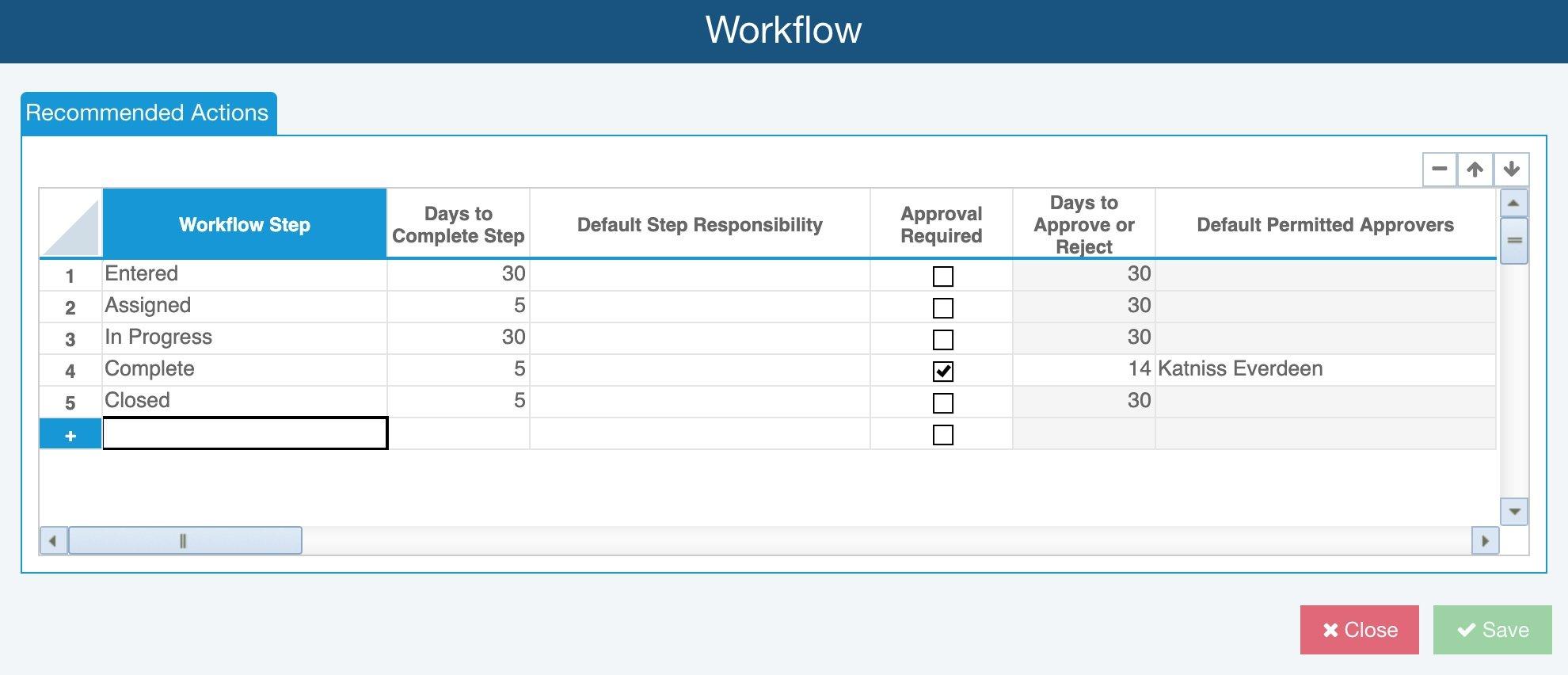 Relyence FMEA Workflow
