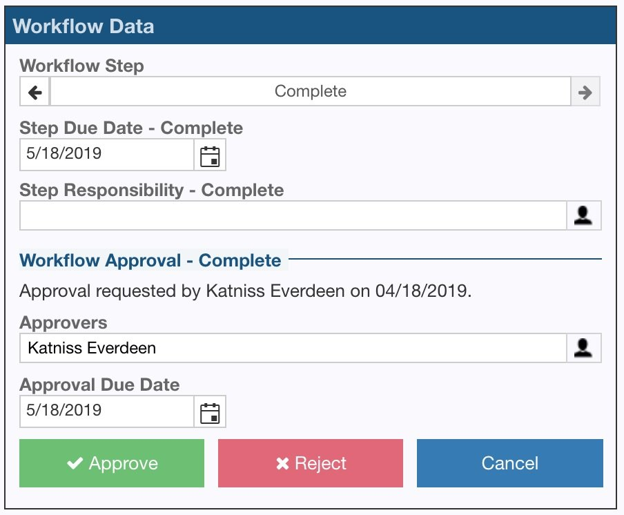 Relyence FMEA Workflow and Approvals