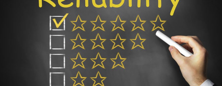Reliability on Chalkboard with Star Ratings