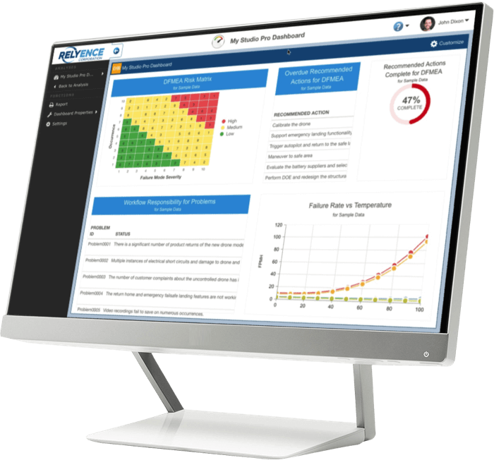Relyence Reliability Software Studio Suite
