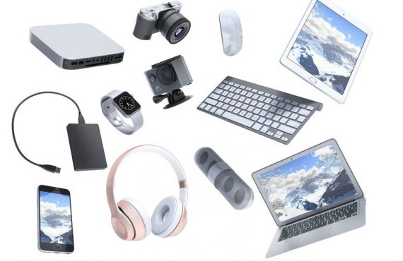 Collection of consumer electronic devices