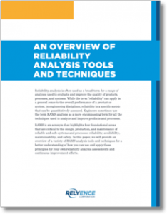 Reliability Tools Overview Whitepaper