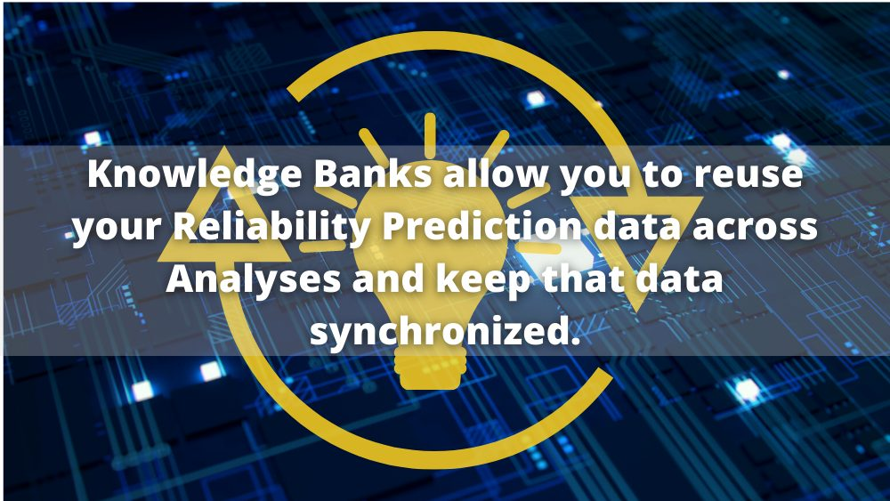 Reliability Prediction Knowledge Bank Graphic